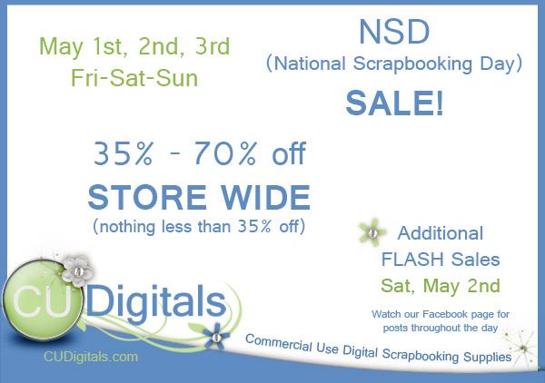 CUDigitals NSD Sale