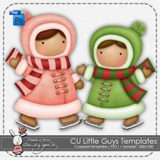 Little Guys Layered Template by Peek a Boo Designs