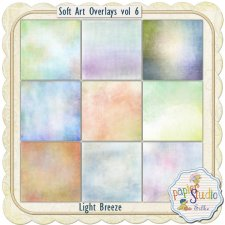Soft Art Overlays Vol 6 - Light Breeze EXCLUSIVE by PapierStudio Silke