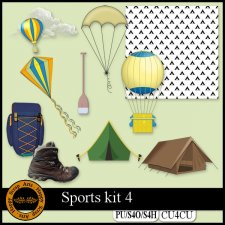 EXCLUSIVE Sport kit 4 CU4CU by Happy Scrap Art