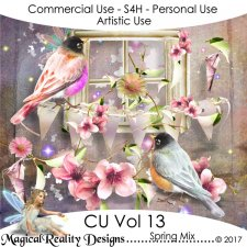 Spring Mix - CU Vol 13 by MagicalReality Designs