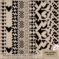 Heart Genius Volume Two by Mad Genius Designs