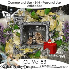 Vintage Love - CU Vol 53 by MagicalReality Designs