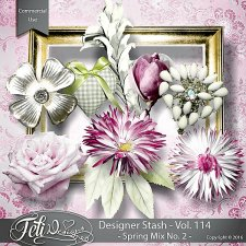 Designer Stash Vol. 114 Spring Mix No. 2 - by Feli Designs