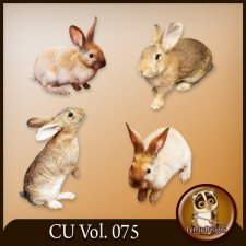 CU Vol. 075 Easter Rabbit Bunny Animals by Lemur Designs