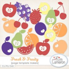 Fresh & Fruity Templates by Kim Cameron