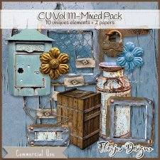 CU vol 111 Mixed Pack by Florju Designs