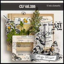 CU vol 235 Mix pack by Florju Designs