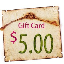 Gift Certificate - $5.00 in Digitals
