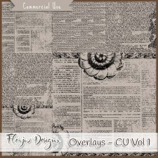 CU vol 1 Overlays by Florju Designs