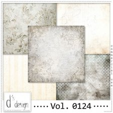 Vol. 0124 Vintage papers by Doudou's Design