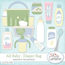 All Baby Diaper Bag by Kim Cameron