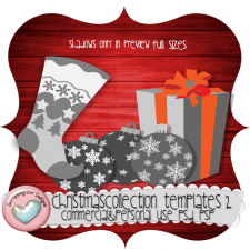 Christmas Collection Layered Templates 2 by ScrapingMar