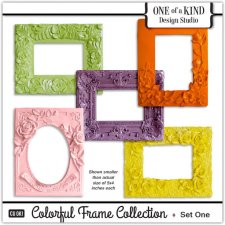 Colorful Frames Collection - Set One