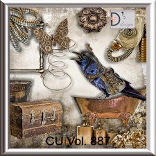 Vol. 887 - Steampunk Mix by Doudou's Design