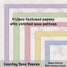 Country Rose Papers by Karen Stimson