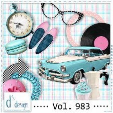 Vol. 983 - Fifties Mix by Doudou's Design