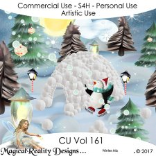 Christmas Mix - CU Vol 161 by MagicalReality Designs