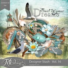 Designer Stash Vol 16 - CU by Feli Designs