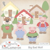 Big Bad Wolf by Kim Cameron