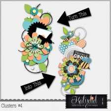 Clusters Layered Templates Pack No 4