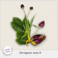 Designer mix 6 _flowers by butterflyDsign