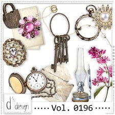 Vol. 0196 - Vintage Mix by Doudou's Design