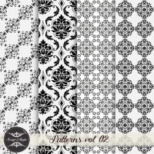 Patterns vol 02 by Scrap Angie