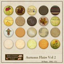 Autumn Flairs Volume 2 by Beckys Creations