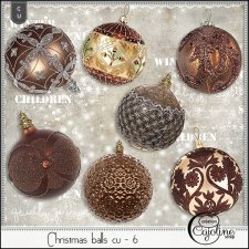 Christmas balls cu - 6 by Cajoline-Scrap