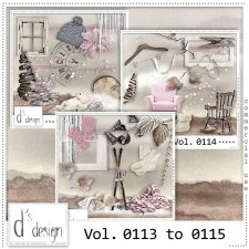 Vol. 0113 to 0115 - Winter Mix by Doudou's Design