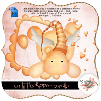 CU Little Hippos Bundle