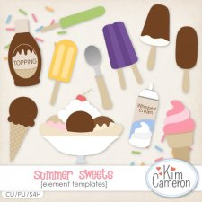 Summer Sweets Templates by Kim Cameron