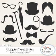 Dapper Gentlemen by Kim Cameron