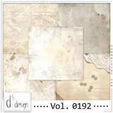 Vol. 0192 Vintage Papers by Doudou's Design