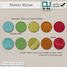 Fabric Styles - CUbyDay EXCLUSIVE