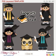 Congrats to the Grads! Layered Element Templates