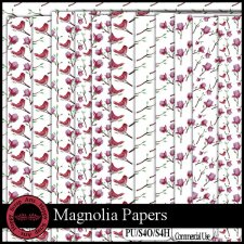 EXCLUSIVE Magnolia Papers by Happy Scrap Arts