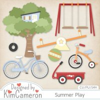 Summer Play by Kim Cameron