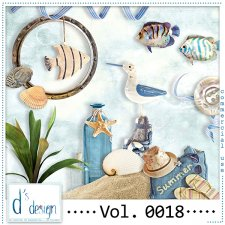 Vol. 0018 - Beach Mix by Doudou's Design