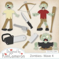 Zombies- Wave 4 by Kim Cameron