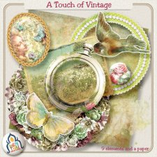 The Touch of Vintage You Need by Benthaicreations