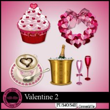 Valentine 2 Elements by Happy Scrap Art