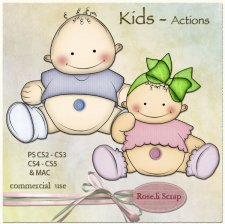 Action - Kids by Rose.li