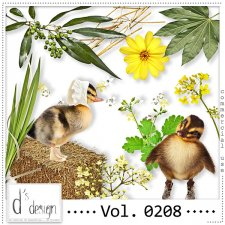 Vol. 0208 - Nature Mix by Doudou's Design
