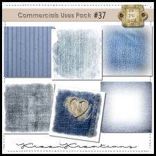CU Vol. 37 Papers Pack Denim by Kreen Kreations