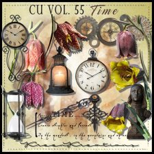 CU Vol. 55 Time by Kreen Kreations