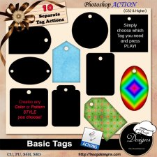 Basic Tags by Boop Designs