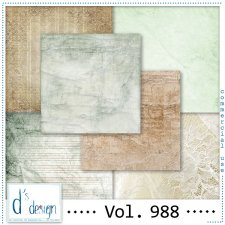 Vol. 988 - Vintage papers - by Doudou's Design
