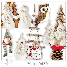 Vol. 0450 Winter Christmas Mix by D's Design